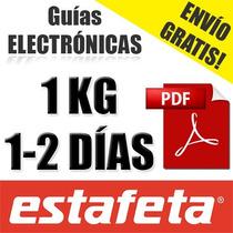 Guia Electronica Estafeta Dos Dias, Digital Envío Gratis