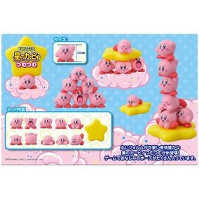 Nintendo - Set De 10 Figuras Japonesas De Kirby - Nuevas