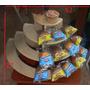 Porta Ponquesitos Candy Bar 52 Por 27 Por 27 Crudo