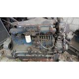Motor Diesel 6 Cilindros Sucata Para Peças
