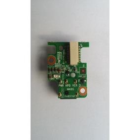 Placa Dc Power Jack Cce Win T35 / T45 / Qbex Pwr Npb Ver. D