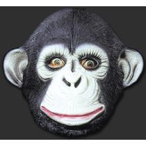 Máscara Macaco / Chipanze - Halloween E Carnaval