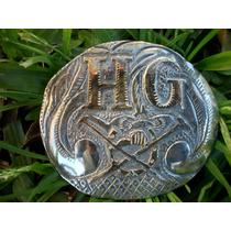 Hebilla De Plata Y Oro Personalizadas