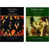 Sófocles Lote X 2 Libros Edipo Rey Electra Áyax Nuevo