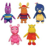 Backyardigans 5 Muñecos 30 Cm Originales Nickelodeon