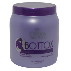 Botox Capilar Cristal Hair C/ Óleo De Argan Profissional 1kg