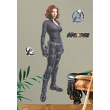 The Avengers Black Widow Viuda Negra Poster Autoadhesivo