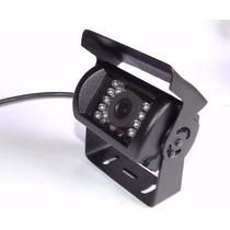 Câmera Veicular 1/3 800 Linhas 18 Leds Resistente A Chuva