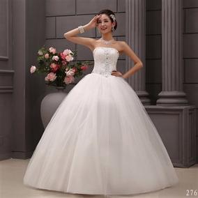 Vestido De Noiva Princesa Luxo Importado Pronta Entrega