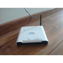 Roteador/modem Adsl Wireless Zte W300