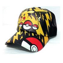 Gorra Pokemon Go Niños Pikachu