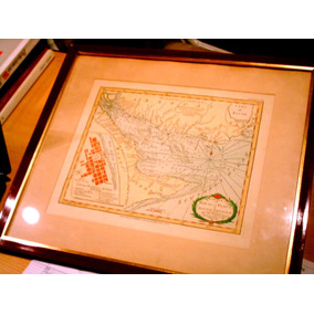 Antiguo Mapa Plano Buenos Aires Colonial 1783 Kitchin Facsim