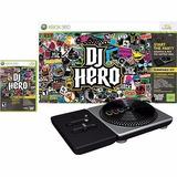 Dj Hero Xbox 360 Original Lacrado Turnable + Jogo!! Promoção