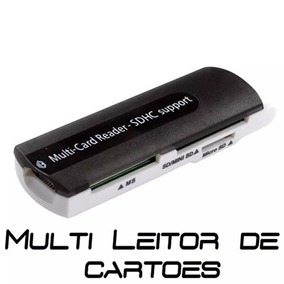 Leitor De Cartão Multi-card Reader Sdhc Support Usb 2.0/1.1