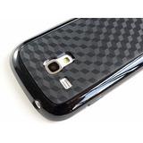 Capa + Pelicula P/ Galaxy S3 Mini I8190 I8200 Siii Case 3d