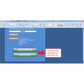 Planillas Excel Para Importar Compras Y Ventas R.g. 3685