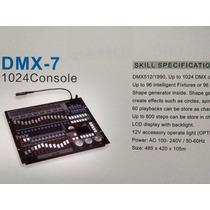 Mesa Controladora De Luz Dmx-7
