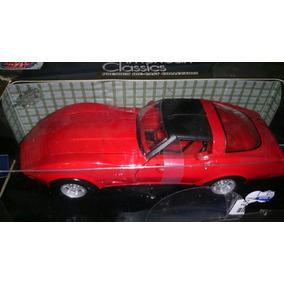 Corvette Rojo 1979 Escala 1/24 Clásico