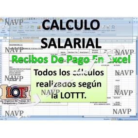 Calculo Salarial Prestaciones Sociales Liquidacion Utilidade