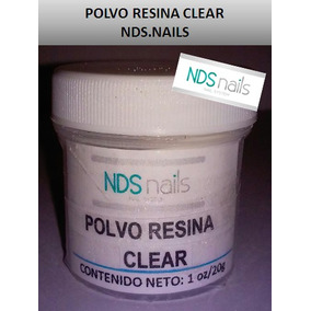 2 Oz 56g Polvo Resina Micropulverizado Clear Nds Nails