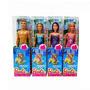 Muñeca Barbie Beach Mattel Varios Modelos Original Tv