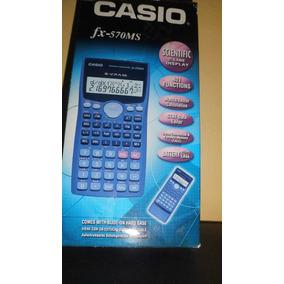 Calculadora Cientifica Fx-570 Ms Nueva