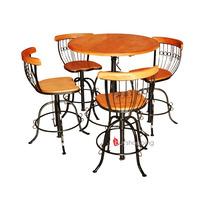 2 Conjunto Bistrô Quatro Banquetas + 8 Cadeiras Frete Grátis