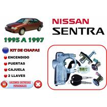 95-97 Sentra Chapas Puertas + Cajuela + Encendido + Llaves