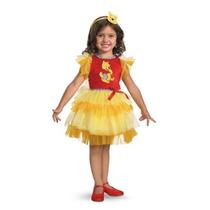 Disfraz Vestido De Winnie De Pooh Oso Niña Talla 3 A 4 Años