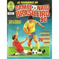 Figurinhas Campeonato Brasileiro 1990 - Compre Por 26,00