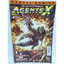 Revista Coleçao Hq Marvel Comics Nº 4 Agente X Ed. Panini