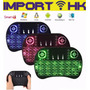 Teclado Mouse Inalámbrico Tablet Android Smart Tv Xbox Led