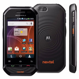 Motorola Nextel I867 Ptt N.f Novo Face Vermelho Preto Branco
