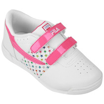 Zapatillas Fila Velcro Niños!! Del 22 Al 28! Buenisimas
