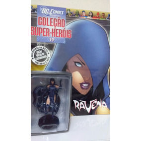 Ravena (jovens Titãs) Miniatura Em Metal Pint.à Mão Lacrado