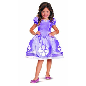 Disfraz De Princesa Sofia Para Niña Talla 2t - Morado