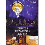 Dvd + Cd - Tributo A Luiz Gonzaga - Bicho De Pé - Novo***