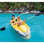 Kayak Inflable 2 Personas Con 2 Pares De Remos De Aluminio