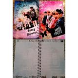 Libreta Bts Young Forever Oppas Korea Kpop Cuaderno