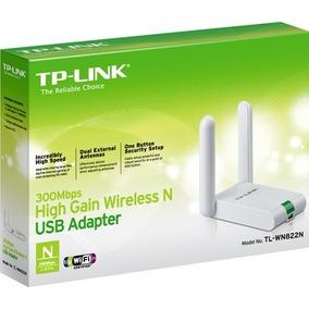 Adaptador Tp-link Usb Wireless N 300mbps Tl-wn822n 2 Antenas