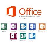 Cartão Chave Microsoft Office Professional Plus 2013