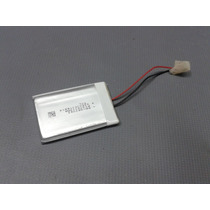Bateria Gps Mp4 Mp3 Etc 3,7v 400ma 4,3cm X 3cm X 3mm 2 Fios