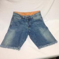 Bermuda Masc Jeans Daslu Homem 111.02-03
