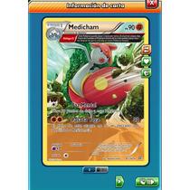 Pokemon Tcg Online - Medicham #81/160 - Carta Virtual