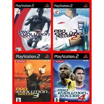 Pro Evolution Soccer Pes 2001 Até 2014 ( 14 Jogos Ps2)