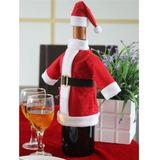 Para Navidad Cobertor De Botella De Vino