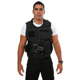 Colete Tatico Cm1001 Com Coldre P/capa Balistica Policia