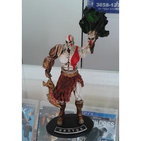 Boneco Kratos God Of Wars - Resina