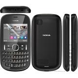 Nokia 201 Asha, 2mp, Mp3, Funciona Somente Vivo - Novo