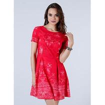 Vestido Curto Feminino Malwee - Vermelho